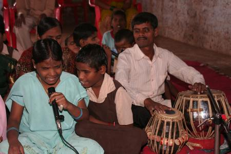 Music at Opening 		                             copyright © Hamara Bandhan e.V.